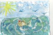 """Выставка детского художественного творчества """" И дорог нам твой образ благородный"""", посвещенный 220- летию со дня рождения А.С.Пушкина"""